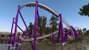 Virtual Game Ultron Uherské Hradiště - Nolits 2 Roller coster simulation