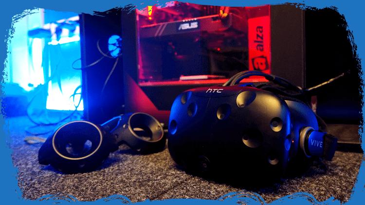Virtual Game Ultron Uherské Hradiště - modrá místnost