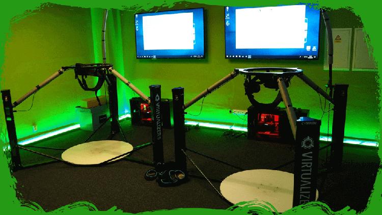 Virtual Game Ultron Uherské Hradiště - zelená místnost
